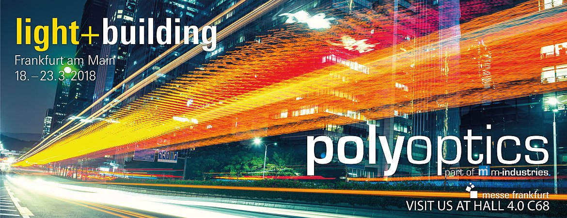 Polyoptics events, Light and Building 2018
